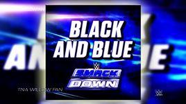 black and blue (handmade clip) - cfo$