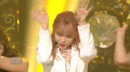 into you (150508 music bank) - hyo sung (secret)