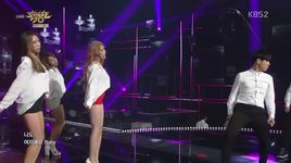 i am a woman too (150626 music bank) - min ah (girl's day)