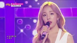 shouldn't have (150620 music core) - baek ah yeon