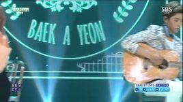 shouldn't have (150621 inkigayo) - baek ah yeon