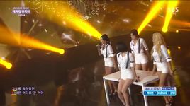 don't be such a baby (150628 inkigayo) - sistar