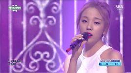 shouldn't have (150628 inkigayo) - baek ah yeon