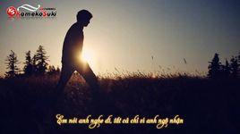 khoang cach nhat nhoa (lyrics) - loren kid, kaybinz