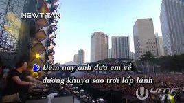 ai dua em ve remix (karaoke) - the men