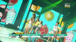 love shake (150703 music bank) - minx