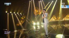 with you (150705 inkigayo) - hong dae kwang