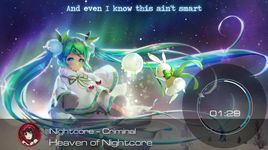 criminal (lyrics) - nightcore, britney spears