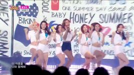 honey summer (150711 music core) - ns yoon-g