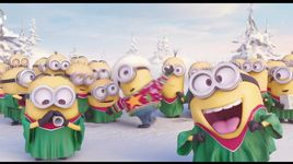 tree lighting ceremony - minions