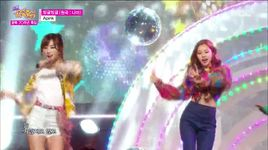 round and round (150815 music core) - a pink