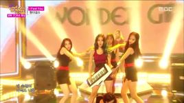 i feel you (150815 music core) - wonder girls