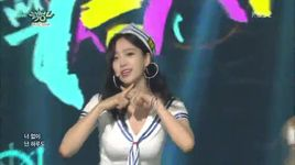 so crazy (150807 music bank) - t-ara