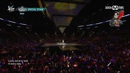 lucky (150813 m coundown in la) - so you (sistar), roy kim
