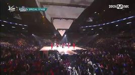 dance battle (150813 m coundown in la) - got7, monsta x