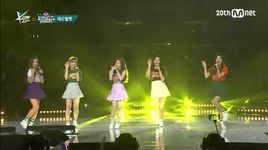 ice cream cake (150813 m coundown in la) - red velvet