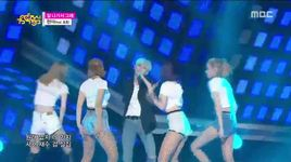 because i'm the best (150905 music core) - hyuna, il hoon (btob)