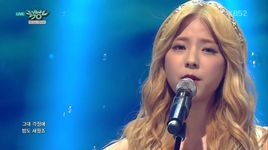 sorry (150828 music bank) - juniel