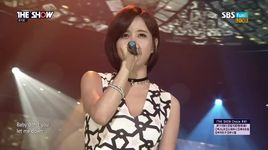 never say goodbye (150901 the show) - eun ga eun, kidstep
