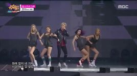 because i'm the best (150912 music core) - hyuna (4minute), il hoon (btob)