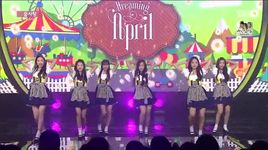 dream candy (150906 inkigayo) - april