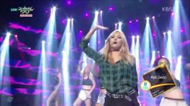 because i'm the best (150911 music bank) - hyuna (4minute)