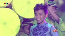 lang quan ho que toi - nguyen cong quoc| (giong hat viet nhi 2015 - vong liveshow - tap 2) - v.a