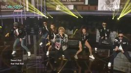 chocolate (150918 music bank) - kang nam (m.i.b)
