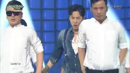 wow wow wow (150918 music bank) - jun jin