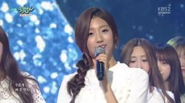 shooting star (151002 music bank) - dang cap nhat