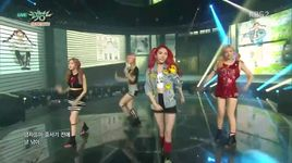 pippi (151002 music bank) - 2eyes