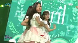 dream candy (151004 inkigayo) - april