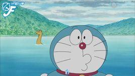 doraemon tap 407: chup minh di! may anh khuon mat; choi noi chu bien thanh quai vat nesshin; keo cat bong - doraemon