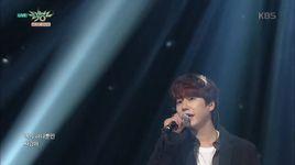 a million pieces (151023 music bank) - kyu hyun (super junior)