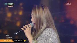 nothing (151023 music bank) - yoo sung eun