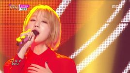 sorry (151024 music core) - park bo ram