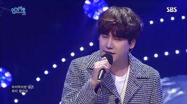 a million pieces (151025 inkigayo) - kyu hyun (super junior)