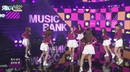ah choo (151030 music bank) - lovelyz