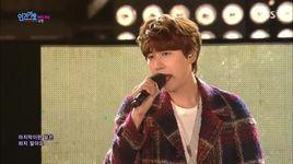 a million pieces (151101 inkigayo) - kyu hyun (super junior)
