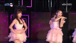 closer (151101 inkigayo) - oh my girl