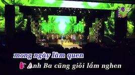 anh ba chi tu (karaoke) - dan truong, cam ly