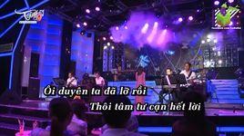 bai ca ky niem (karaoke) - hoang chau