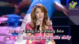 beo dat may troi remix (karaoke) - thu phuong