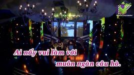 buc hoa dong que (karaoke) - vy oanh