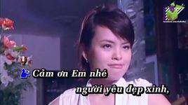cam on em yeu (karaoke) - duong ngoc thai, ho kim