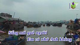 canh co va dong song (karaoke) - ngoc son