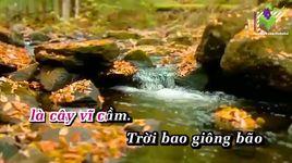 cay vi cam (karaoke) - thuy chi