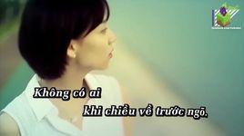 chieu hoang (karaoke) - ngoc anh
