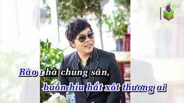 chieu nuoc lu (karaoke) - quang le