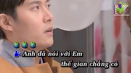 con anh day (karaoke) - a huy, lyna thuy linh